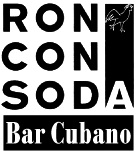 Logo: RON CON SODA - Bar Cubano
